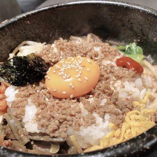 石焼きビビンバ(焼肉チャンピオン 池袋東武店 )