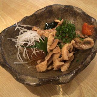 とり皮ポン酢(大地と海のめぐみ 魚 (だいちとうみのめぐみ ぎょっ))