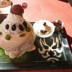 渋皮栗ときなこ & 北海道生乳のトリプルクリームパンケーキ