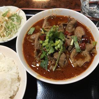 豚ハツタン野菜たっぷりの煮込み(四川DINING 望蜀瀘 )
