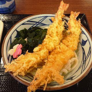 寿 大海老うどん(丸亀製麺 三重大学前店 )