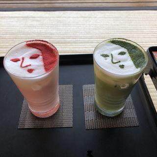 抹茶ラテ(よーじやカフェ 銀閣寺店 )