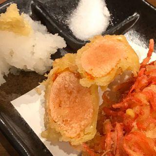 天ぷら 明太子(魚の四文屋 高円寺店 )