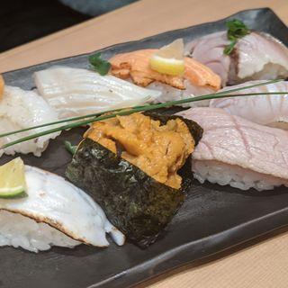 炙り寿司(お魚総本家 池袋西口店)
