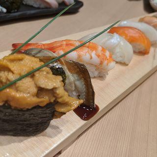 おまかせ十貫握り寿司(お魚総本家 池袋西口店)