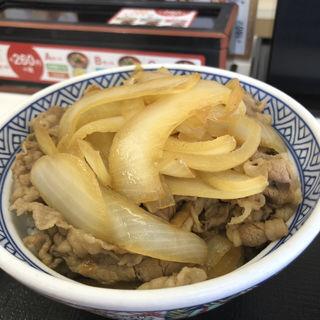 ねぎだく牛丼 (並)(吉野家 26号線阪南店 (ヨシノヤ))