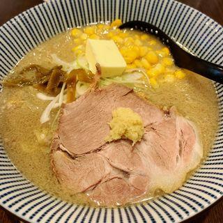 味噌バターコーンラーメン(八堂八)