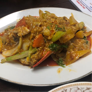 プーパッポンカリー 蟹のカレー炒め(タイーヤータイ (THAI-YA-TAI))