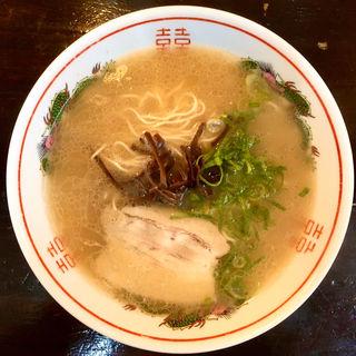 豚骨ラーメン(西新亭 (ニシジンテイ))
