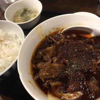 豚麻辣土鍋