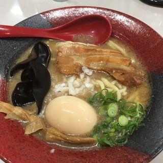 超濃厚トンコツ玉子ラーメン(麺処克味)