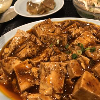 麻婆豆腐定食(順香)
