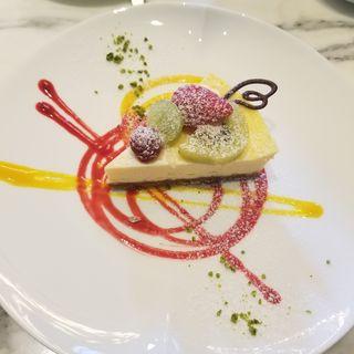 ニューヨークチーズケーキ(東京ステーションホテル ロビーラウンジ )