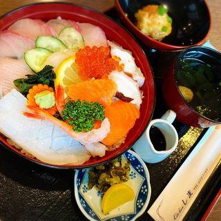 海鮮丼定食(キッチンしま)