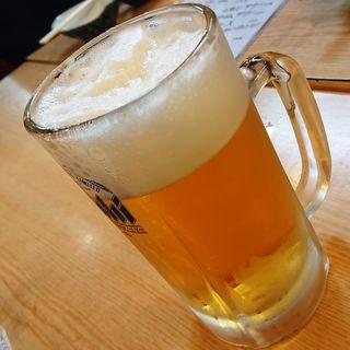 生ビール(中ジョッキ)(パブ 山形)
