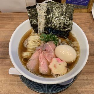 特製煮干しソバ(中華ソバ 篤々)