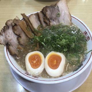 温玉チャーシューメン(笑う門には麺来たる )