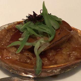 白トリュフオイル入り鮑ご飯(中国料理 「チャイナブルー」 コンラッド東京 )