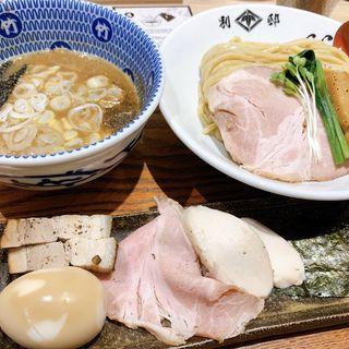 特製濃厚鶏豚骨つけ麺(別邸 たけ井)