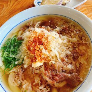 肉うどん(英ちゃんうどん 村山田店 (えいちゃんうどん))