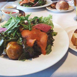 冬のランチ サラダプレートコース(24/7 restaurant (トゥエンティーフォーセブンレストラン))