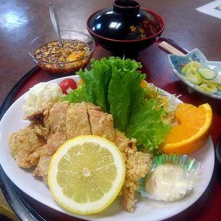 油淋鶏定食(薬師堂温泉 )