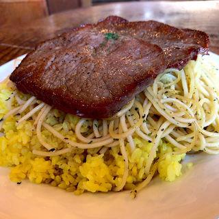 牛肉の薄切りステーキ(ラ・タベルナ )