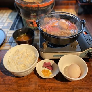 松阪牛すき焼きランチ(一升びん ラシック店 )