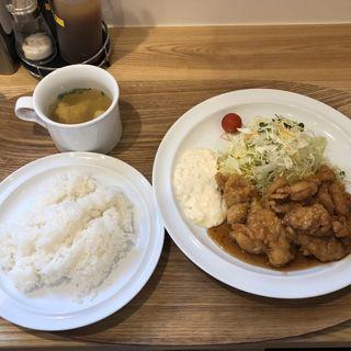 チキン南蛮定食(たいら食堂)