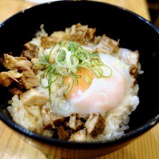 月見丼(頂賢麺)