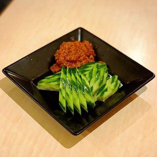 ピリ辛 肉味噌キュウリ