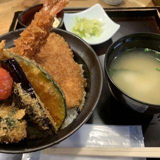 特製合いもり丼(新潟カツ丼 タレカツ 神保町本店 )