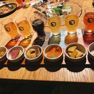クラフトビールとアペタイザーのペアリングセット(Spring Valley Brewery Tokyo)