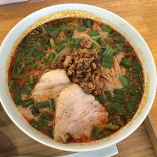 担々麺+マーボー豆腐+バラチャーシュー・白飯(自家製麺と定食 弦乃月)