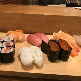 食べ放題(築地玉寿司 コア銀座店)