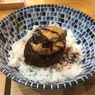 フォアグラ飯(自家製麺と定食 弦乃月)