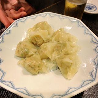 水餃子(博多麺房 赤のれん (はかためんぼう あかのれん))
