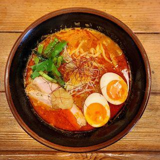 味玉唐唐郎らー麺(唐唐郎)