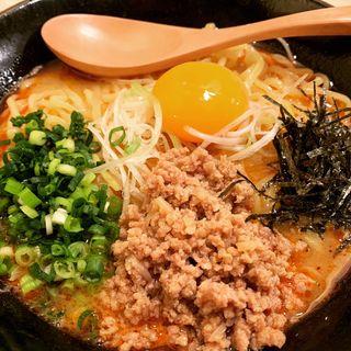 鶏ポタンタン麺(鶏ポタ ラーメン THANK (サンク))