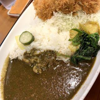 カツカレー ( ヒレ )