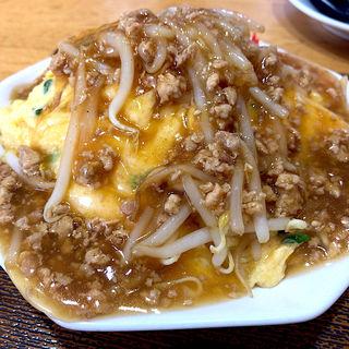 肉あんかけニラ玉炒飯(大阪王将 仙台西多賀ベガロポリス店 )