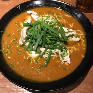 赤いかれー麺(激辛)