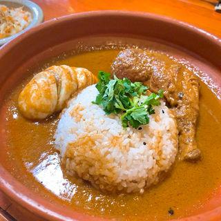 ハイダル薬膳カレーセット(サラダ・紅茶付)(雑貨とカレーの店 ハイダル)