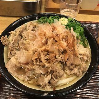 肉うどん(丸香)