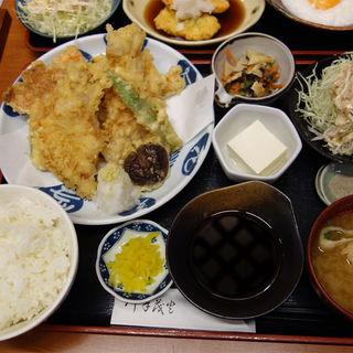 豚天ぷら定食(食事屋 やゆよ)