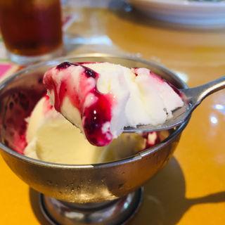 ラッシーのアイスクリーム