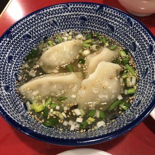 スープ餃子(餃子屋 弐ノ弐 警固店)