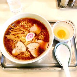 中華麺(生玉子付き)