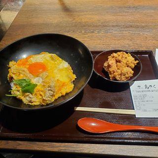 親子丼と唐揚(3個)定食