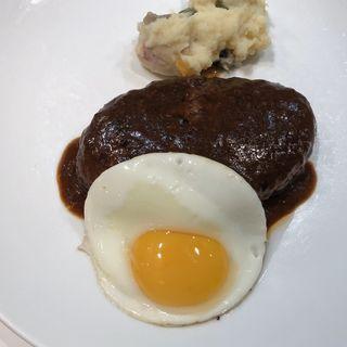 ハンバーグステーキ(グリル アンドウ (GRILL ANDOU))